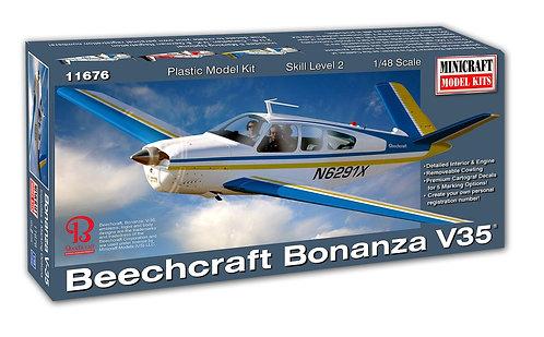 Beechcraft Bonanza Minicraft 1/48 - NOVIDADE!