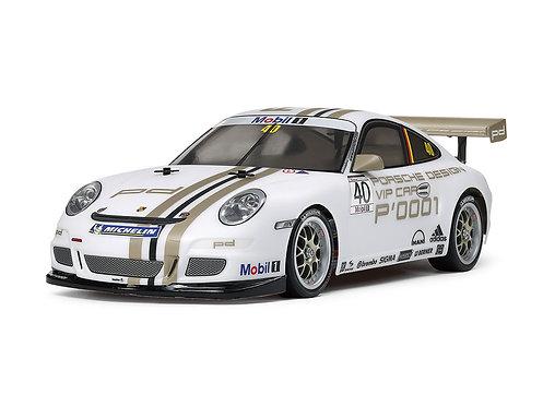 Porsche 911 GT3 CUP VIP 2008 (TT-01 Type-E) - R/C 1/10 Elétrico Tamiya