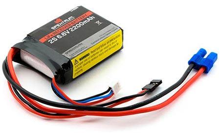 Bateria de LiFe de 2200 mAh 2S 6,6V Spektrum