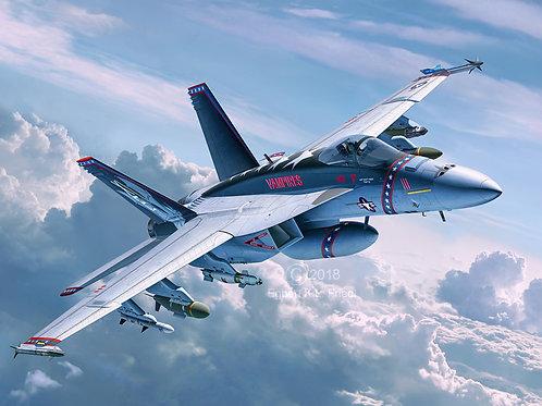 Kit para montar F/A-18E Super Hornet Revell - 1/32 - NOVIDADE!