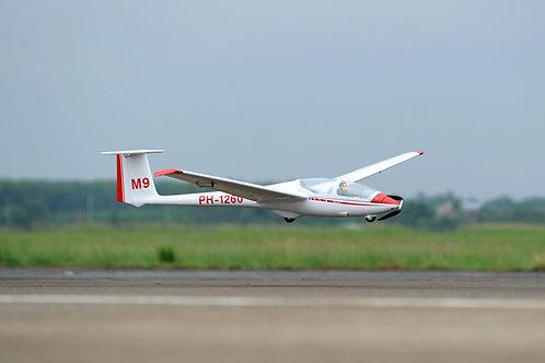 Planador ASK-21 - ARF - escala 1/5 (3,2M Enverg.) - Elétrico Phoenix