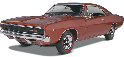 Kit para montar Dodge Charger R/T 1968 - 1/25 - Revell