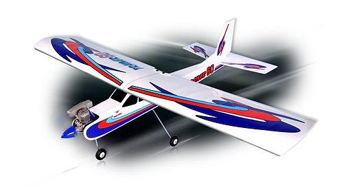 Trainer 60 - ARF - 188cm asa - Elétrico ou Combustão - Com flaps Phoenix