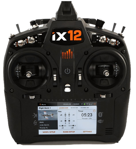 Rádio Spektrum iX12 - 12 canais