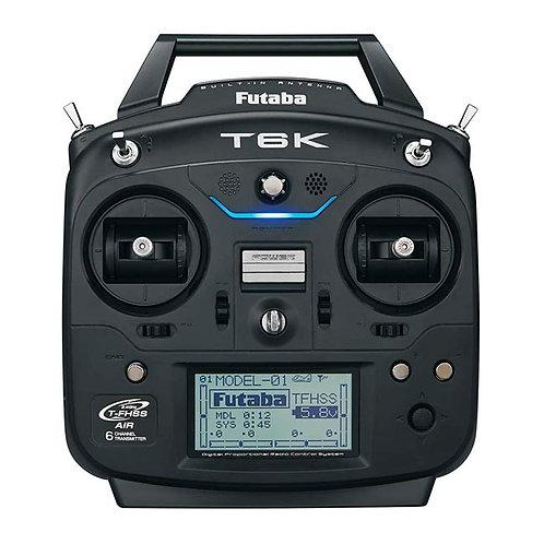 Rádio Futaba 6K 2.4GHz T-FHSS - Avião - Telemetria - s/ servos
