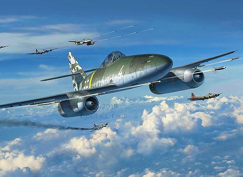 kit Messerschmitt Me 262 A-1 Revell - 1/32 - NOVIDADE!