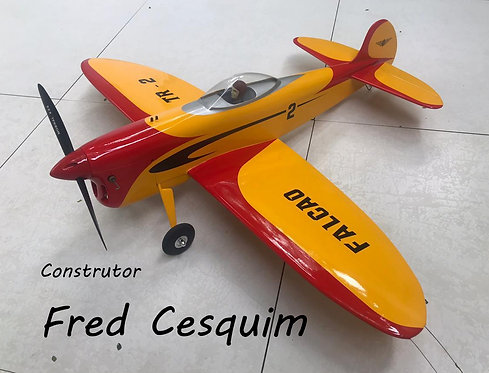 Aeromodelo Falcão TR-2 VCC U-Control