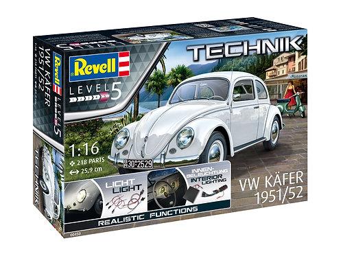 Volkswagen Fusca Beetle 1951/1952 - 1/16 - Technik