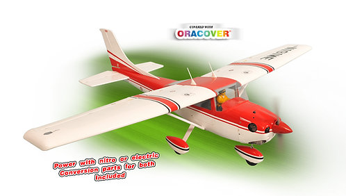 Aeromodelo Cessna Skylane 182 46-55 - ARF (elétrico e combustão) Phoenix