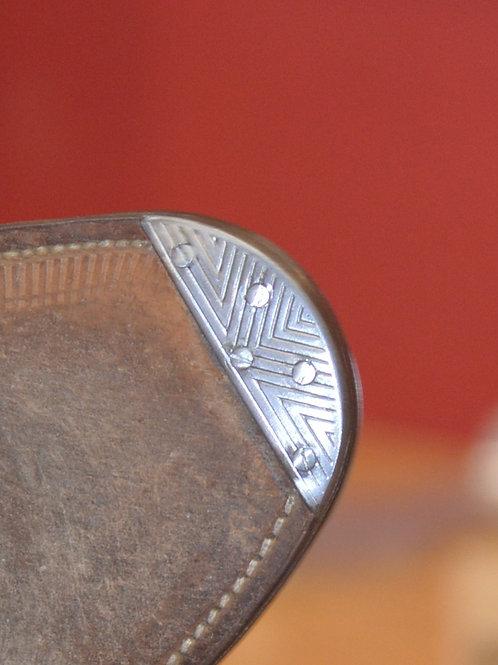 Flush Metal Toe Taps