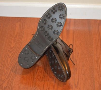 Alden 964 with the  Dainite soles & Heels after