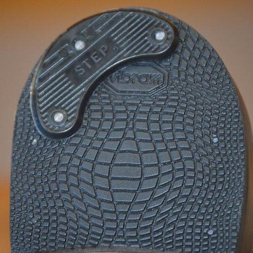 Plastic heel plates 1 pair