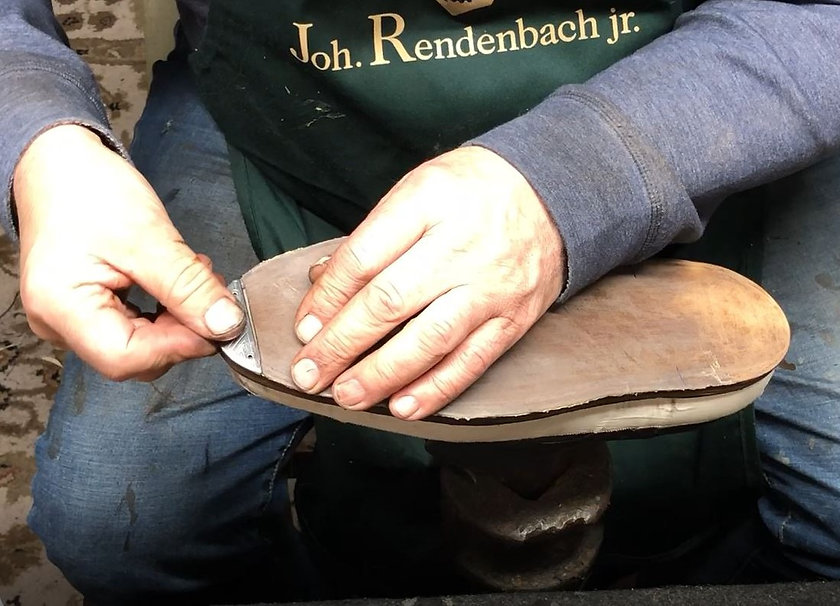 Flush Metal  Toe Plate Aram The Cobbler.