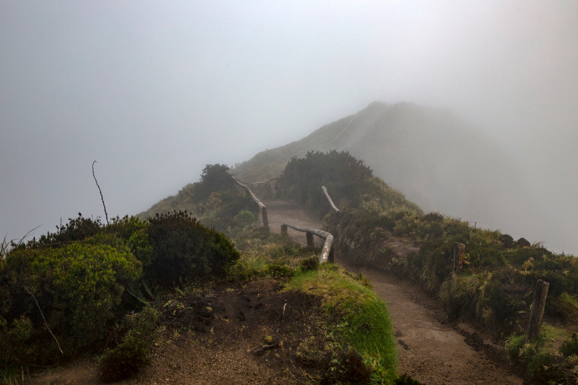 Trail in the Clouds