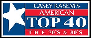 Casey Kasem AT40 70s_AND_80s Logo (No Ba