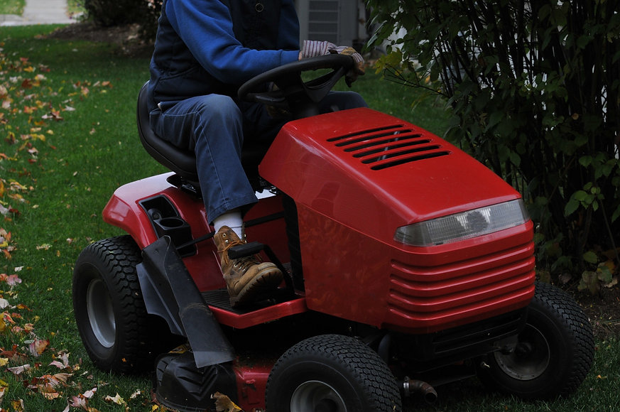 Soutien Lawn Mower Selection