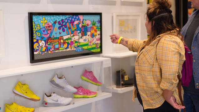 Visionary_Experiential_Creative_Agency_Event_Spongebob Squarepants 20th Anniversary Event_12
