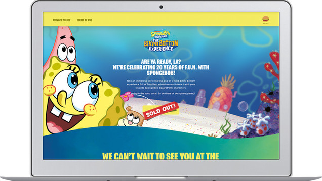 Visionary_Experiential_Creative_Agency_Event_Spongebob Squarepants 20th Anniversary Event_17