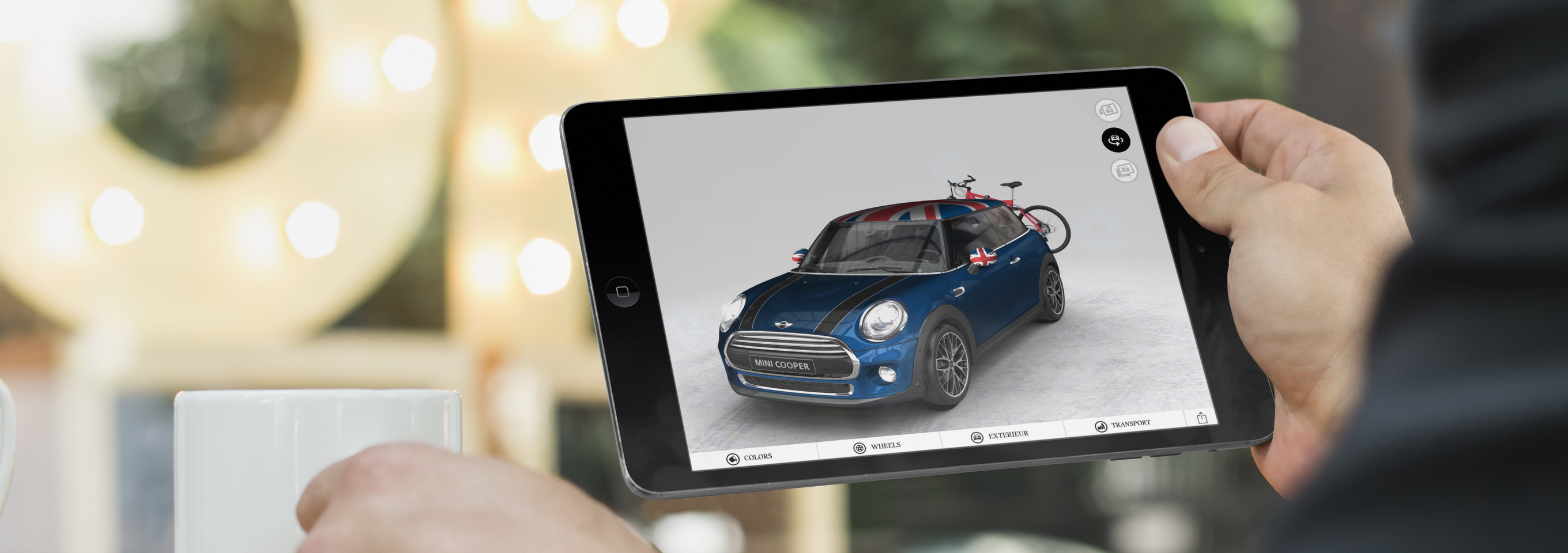 Virtual Showroom for BMW Mini