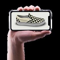 VF VANS Sneaker WebGL iphoneX - placeit
