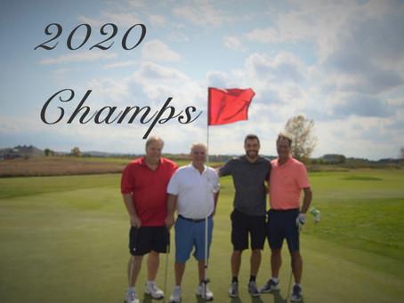 Meet 2020's Golf Tournament Champions!