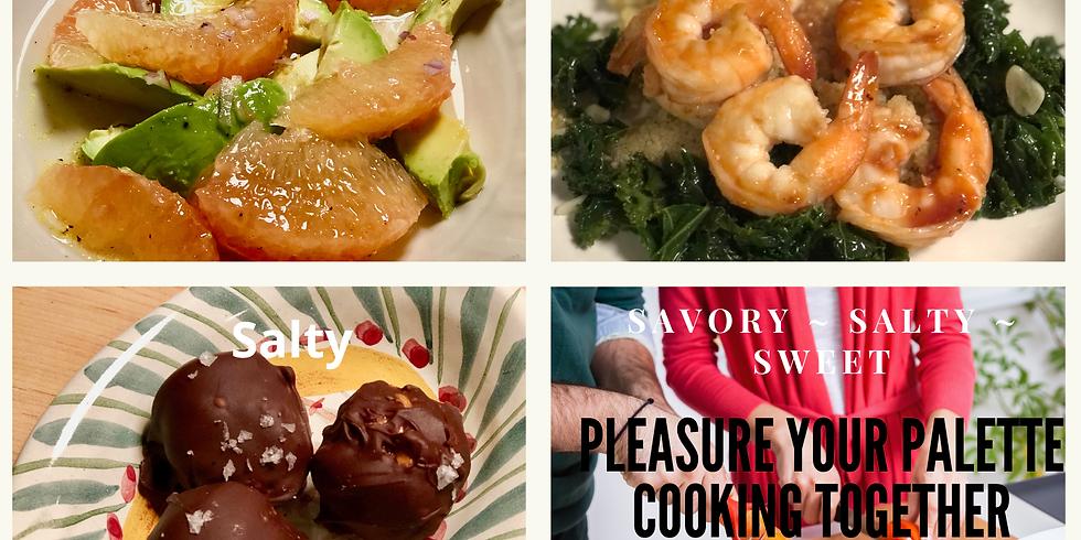 Pleasure Your Palette Cooking Class