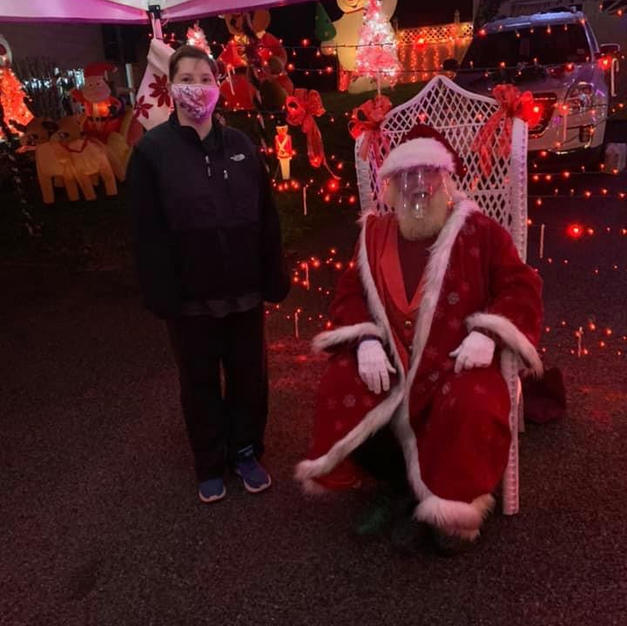 Chelsea and Santa