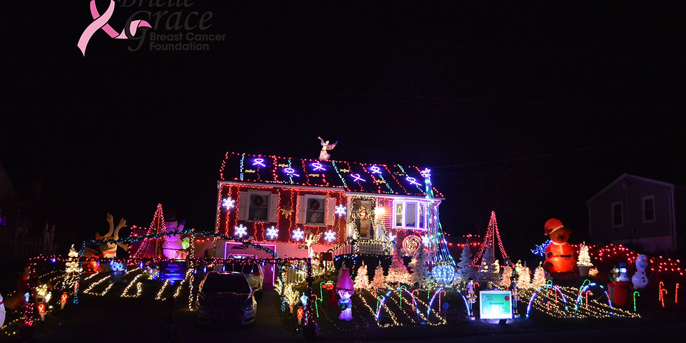 Fortis Family Lights For a Cause & Brielle Grace Breast Cancer Foundation