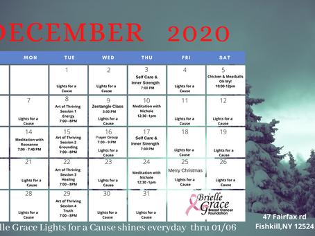 December's 2020 Virtual Workshops