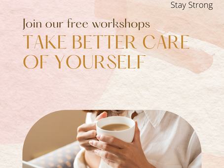 Fall is around the corner & Our free workshops are back!