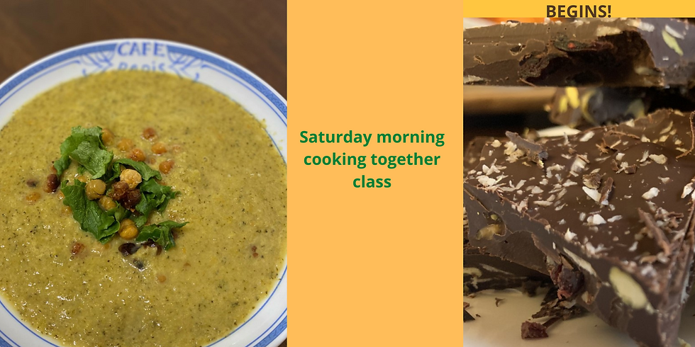 COOK, EAT & WARM YOUR SOUL COOKING CLASS