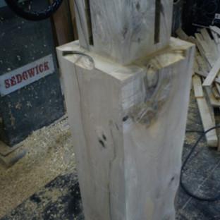 table leg ...sculpting next