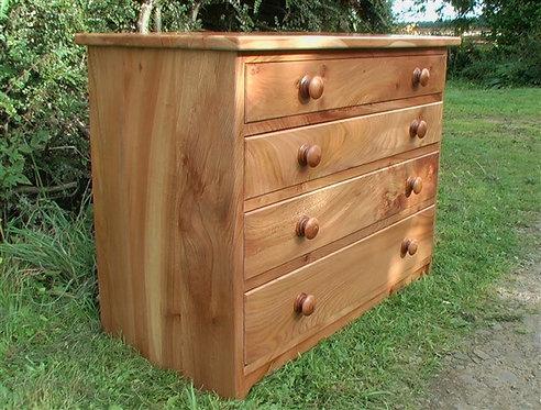 wych elm drawers