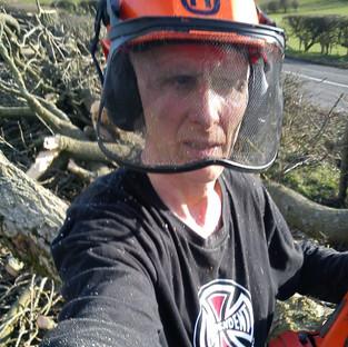 earlier years ...hardwood logging in uk