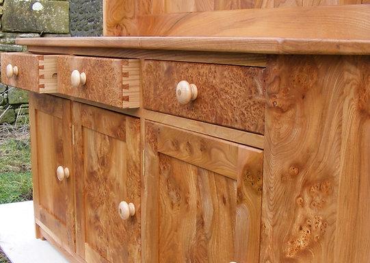 wych elm dresser