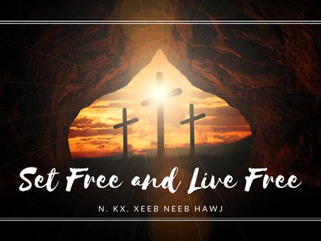 Set Free and Live Free