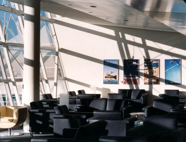 Swiss First Class & Business Class Lounge