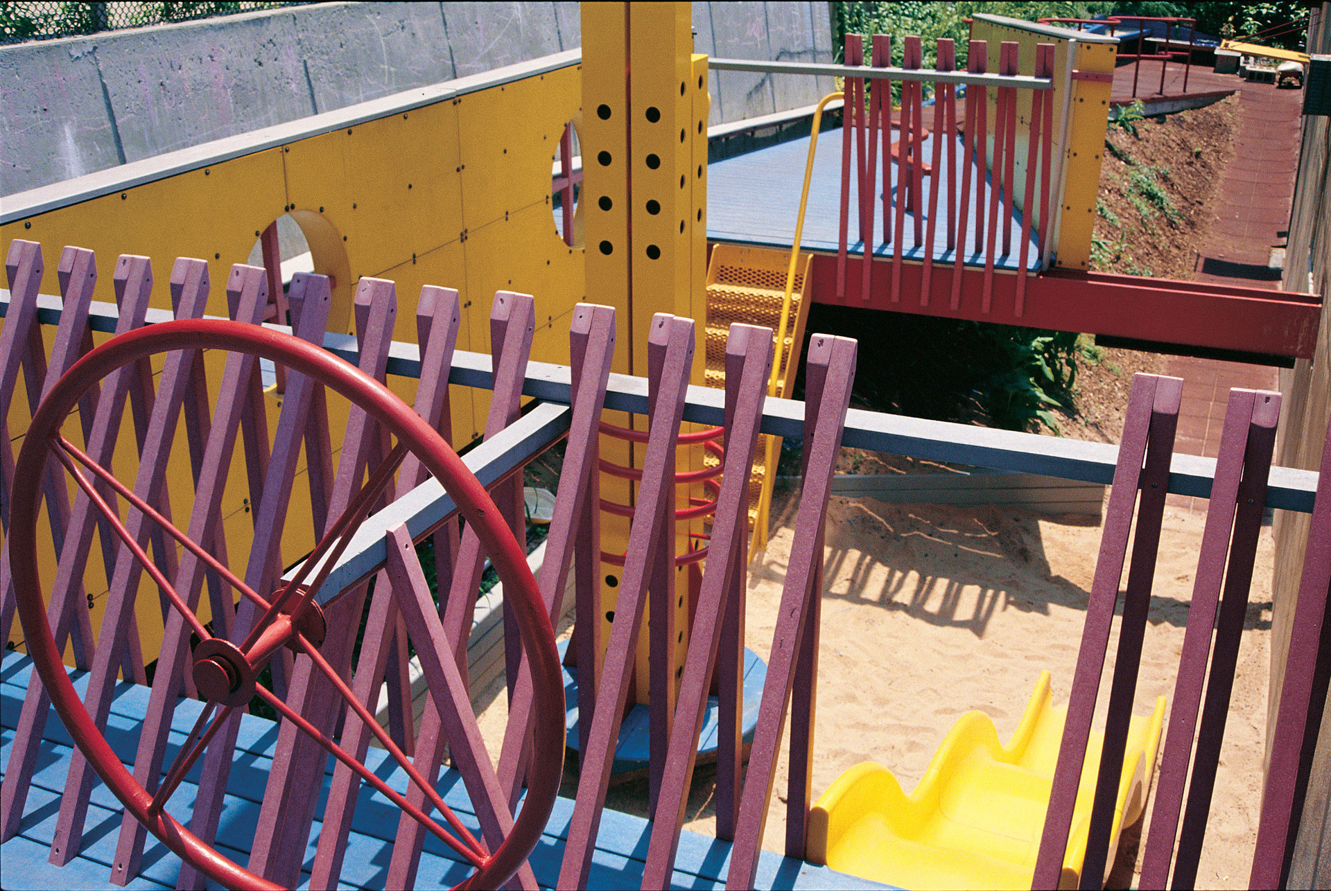 Recycled Ground - An Urban Playground