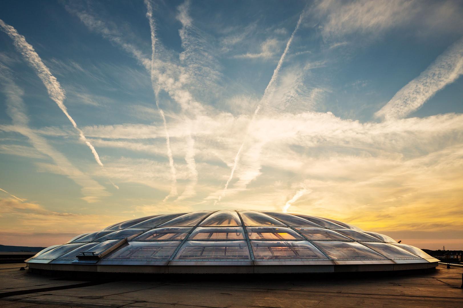 SUNY Albany Podium Skylights