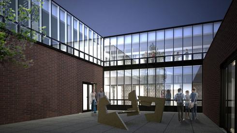 SUNY Purchase Visual Arts Modernization
