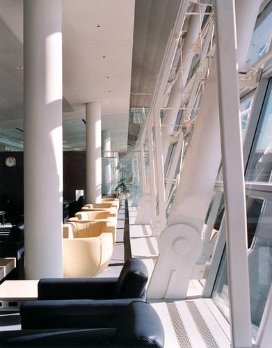 Swiss Lounge window