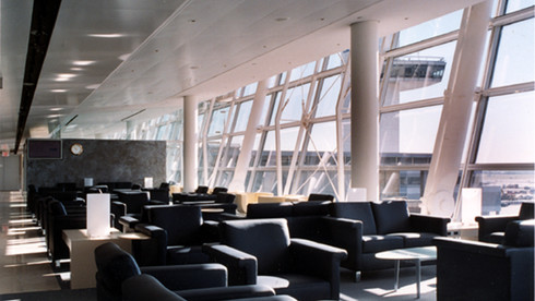 Swissair First Class & Business Class Lounge
