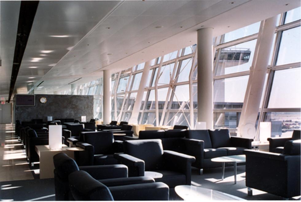 Swissair First Class & Business Class Lounge