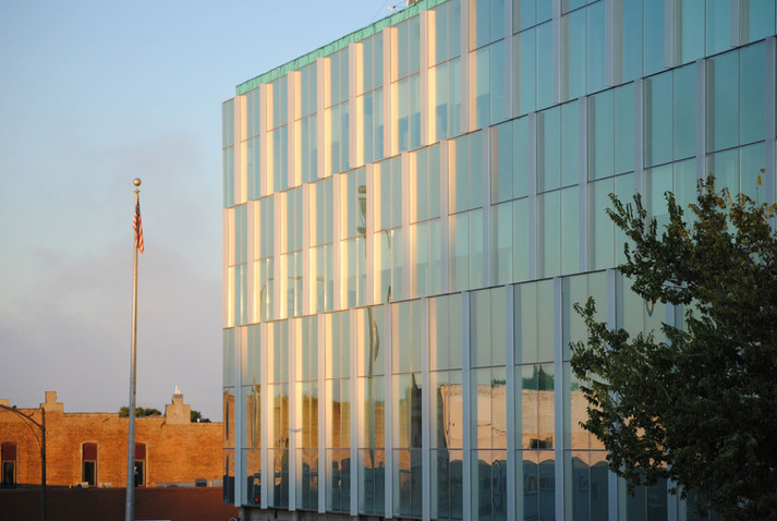 Pierre Federal Building Curtain Wall
