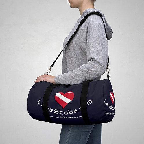 LoveScuba Duffel Bag