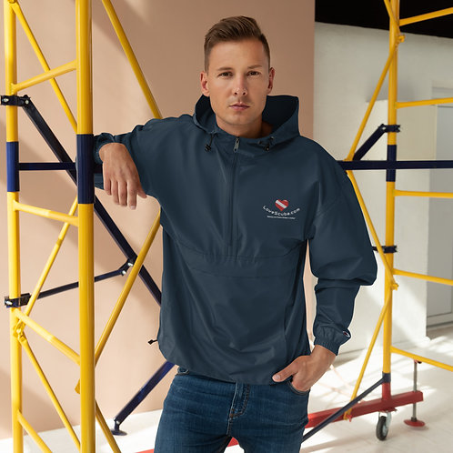 LoveScuba Embroidered Champion Packable Jacket
