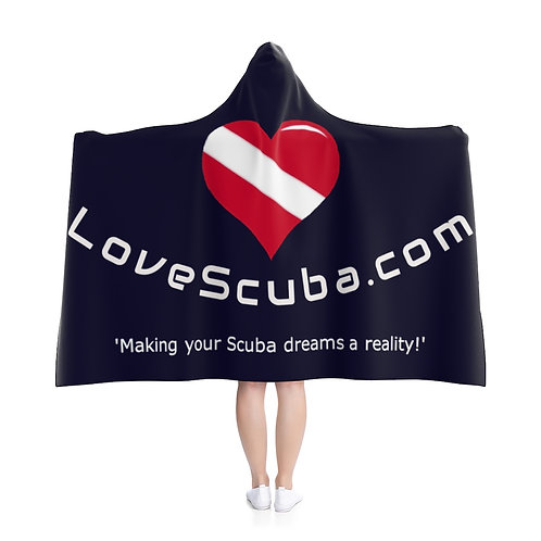 LoveScuba Hooded Blanket