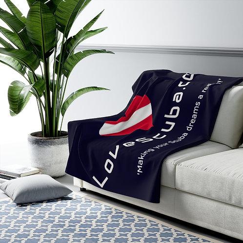 LoveScuba Sherpa Fleece Blanket