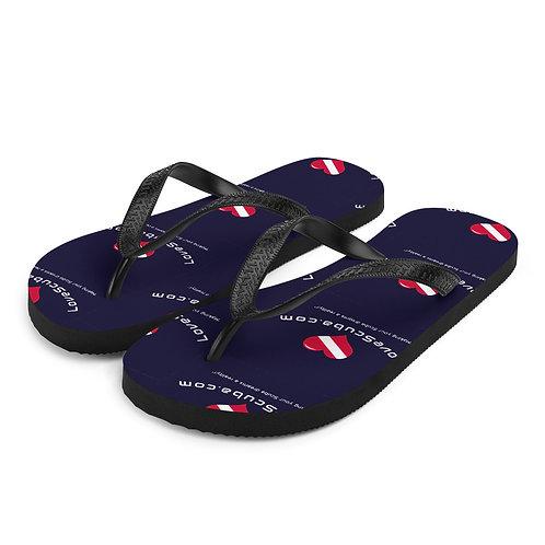 LoveScuba Flip-Flops