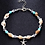 Thumbnail: Multi Beads and Shell Mix Anklet Ankle Bracelet - Starfish